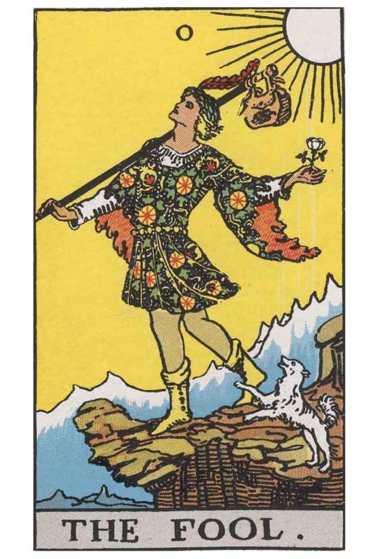 塔罗牌牌意:愚人正位与愚人逆位的解析与含义插图