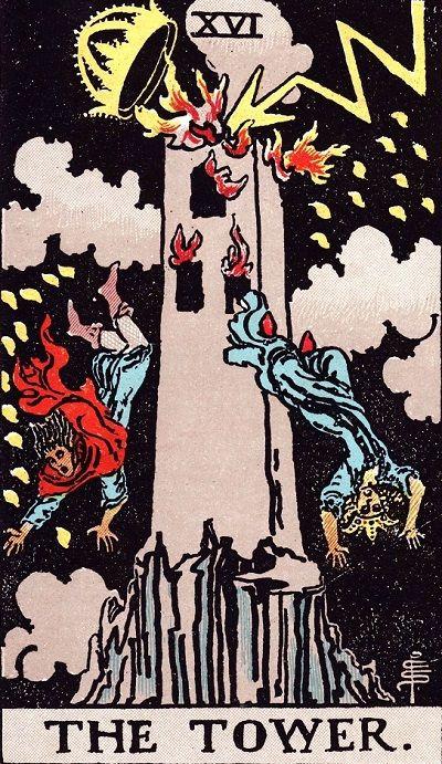 塔罗牌牌意:高塔正位与高塔逆位的解析与含义插图