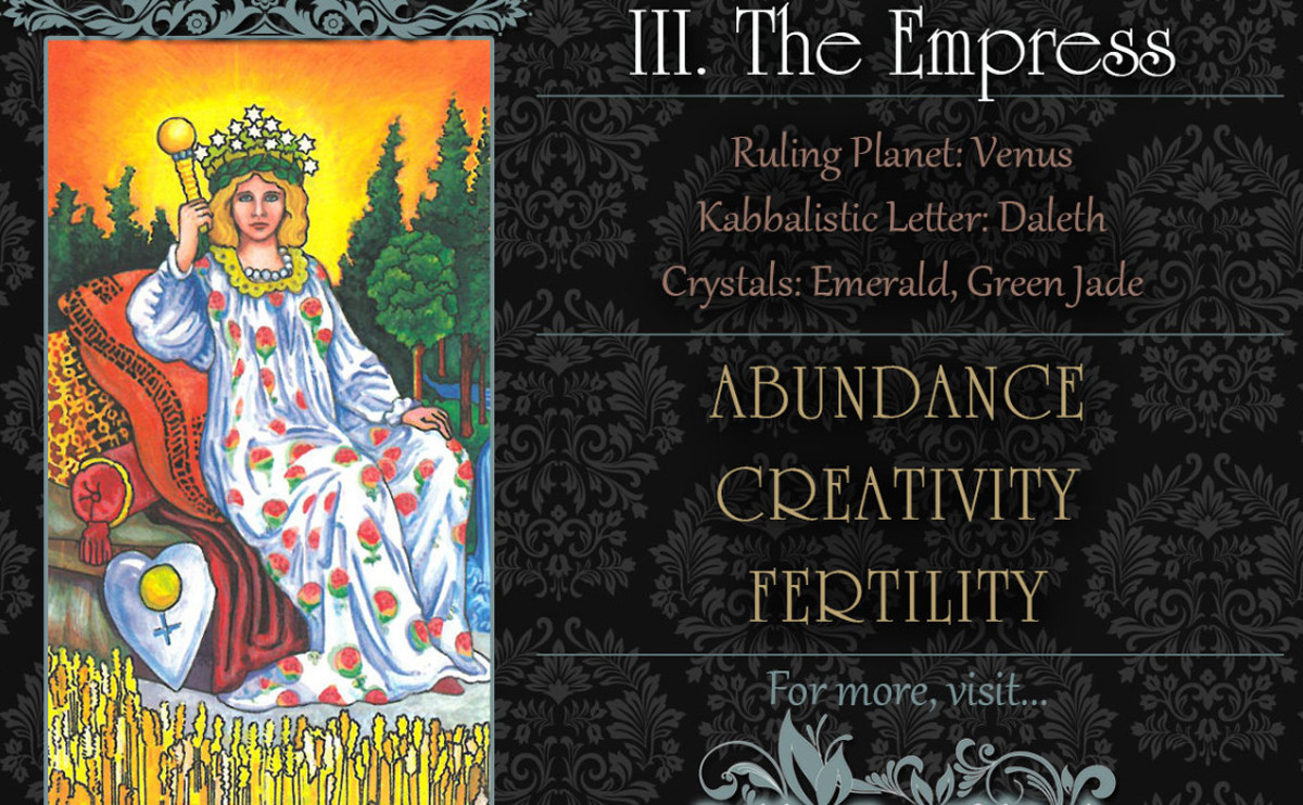 塔羅牌義: The Empress 皇后