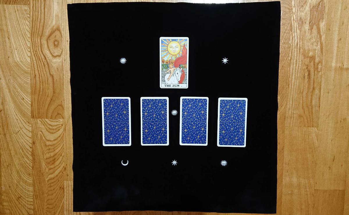 太陽牌的占卜練習:四種發光之道