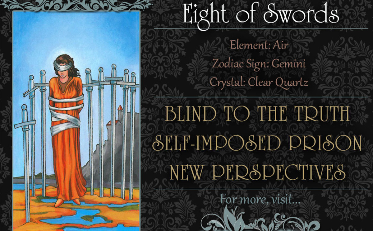 塔羅牌義:寶劍八 Eight of Swords