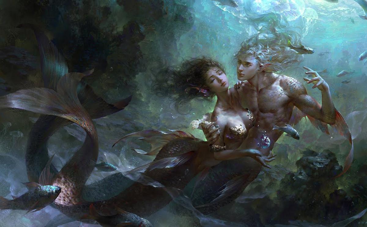纖細多情的浪漫派:雙魚座與塔羅牌的月亮(The Moon)