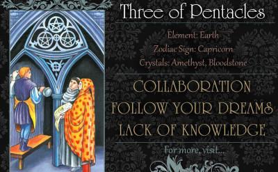 塔羅牌義:錢幣三 Three of Pentacles