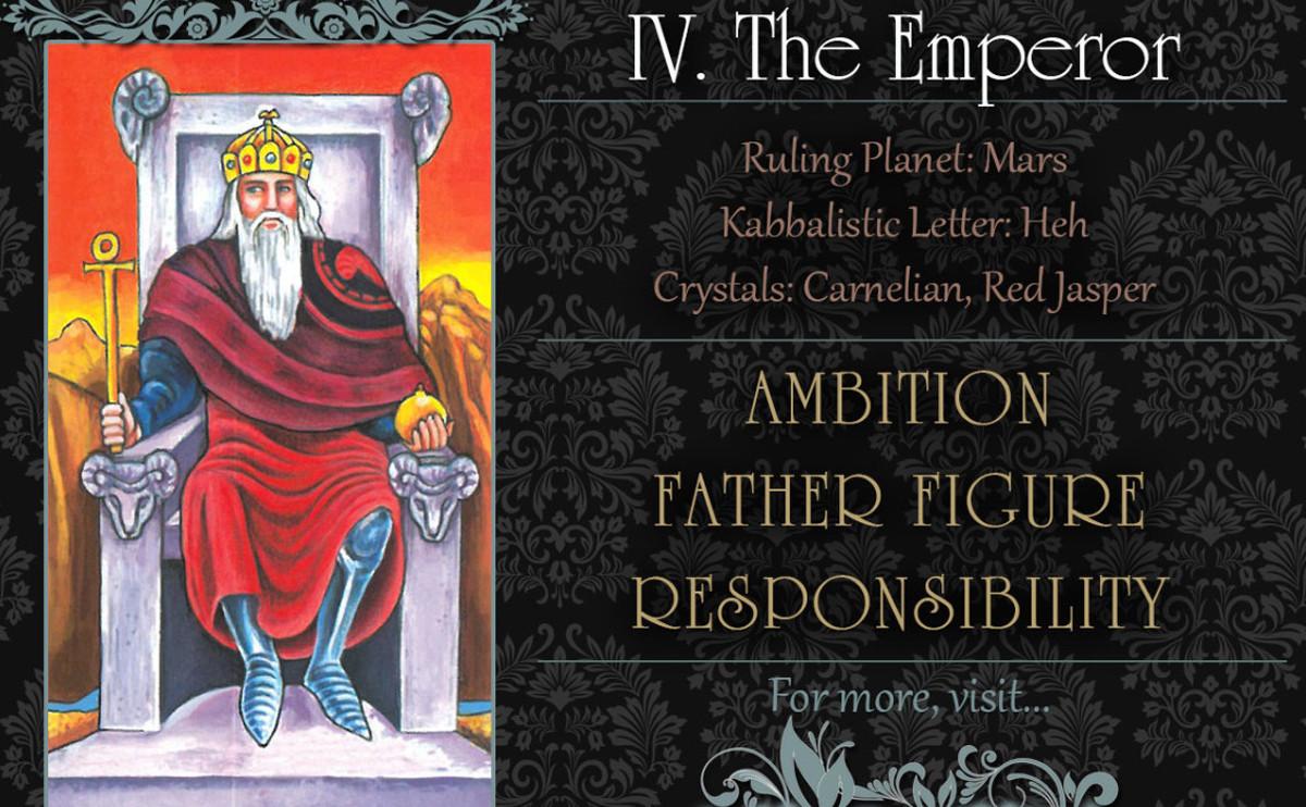 塔羅牌義: The Emperor 皇帝