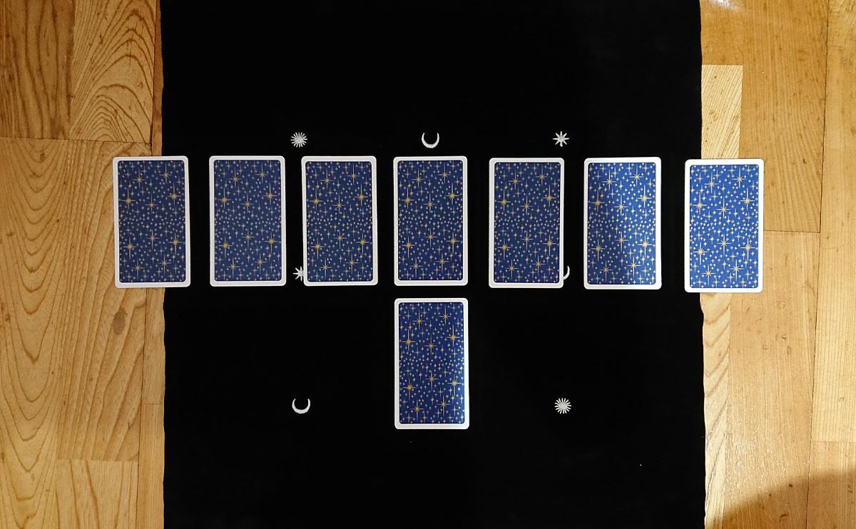 愛情塔羅的占卜牌陣:美麗的「珍珠項鍊占卜法」