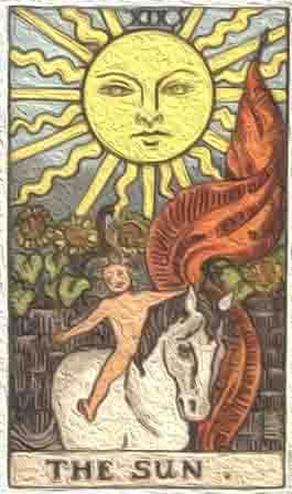 (逆位) 太陽