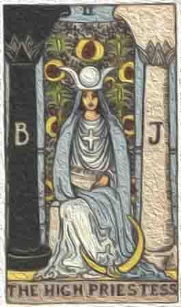 (逆位) 女祭司
