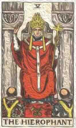 (逆位) 教皇